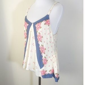 Free People Tops - Free People Floral Cami Sz S